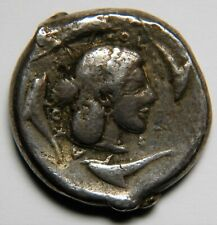 Sicily Syracuse Hieron I AR tetradrachm circa 478-475 BC VF [16.60 grams, 23 mm]