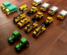 Lot Of (16) MAJORETTE Utility & Work Trucks NO. 211, 274, Crane, 208, 287, Dump