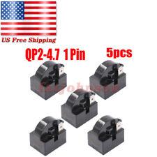 For Mini Fridges Qp2-4.7 4.7 Ohm 1-Pin Ptc Starter Start Relay Refrigerators (5)