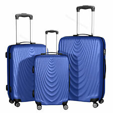 Hardside Spinner Luggage Set 3 piece Lightweight 20'' 24'' 28'' Trolley Suitcase