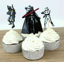 12 x Star Wars Cupcake Cake Toppers Toothpicks Boys Party Birthday Decor