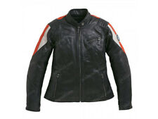 Ladies BMW Motorcycle Biker Leather Jacket Racing Motorbike Leather Jackets 48