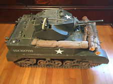 CUSTOM WW2 US M5 Light Tank 1/6 Scale Vehicle w/ Extras & Box, Ultimate Soldier