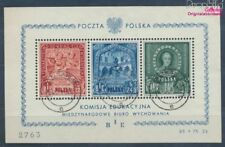 Poland block9 (complete issue) fine used / cancelled 1946 Education (7977085