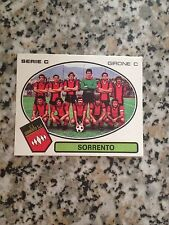SORRENTO SQUADRA N.598 album CALCIATORI PANINI 1977 1978 NUOVA VELINA DA BUSTINA
