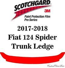 3M Scotchgard Paint Protection Film Pro Series 2017 2018 Fiat 124 Spider Abarth