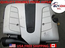JDM Toyota 3UZ-FE 4.3L V8 VVTi Engine Lexus LS430 GS430 SC430 Automatic Tranny