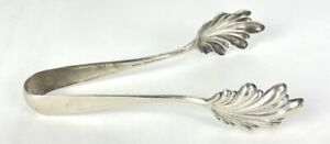 """S. Kirk &  Son Sterling Silver Ice Tongs 6.5"""""""