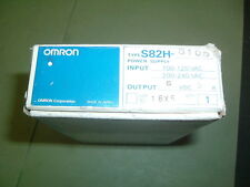 OMRON S82H 3105 .......POWER SUPPLY ........100-240 VAC IN, 5 VDC OUT, NEW BOXED