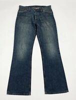 Pepe london jeans uomo usato W34 L34 tg 48 bootcut zampa denim boyfriend T6147