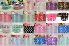 Wholesale! 1/5/10yds 7/8'' (22mm) printed grosgrain ribbon Hair bow sewing #2