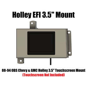 88-94 Chevrolet/GMC Truck Suburban C/K Holley EFI Touch Screen Mounting Panel