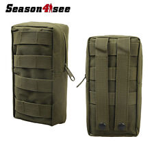 Tactical Military Molle Utility Tool/Accessory Pouch Bag for Vest Backpack Green