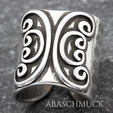 Silberring Silber 925 Ring  Verstellbar Offen  breit  R0874🦋 flexibel, massiv