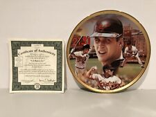 Bradford Exchange Plate Cal Ripkin Jr. Record Breakers Plate Baseball Plate New!