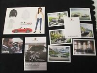 2013 2014 Porsche 911 50th Anniversary Postcard Catalog Set 991 Special Edition