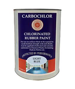 Chlorinated Rubber Paint | Swimming Pool | Pond | Parlour Paint 2.5lt | 5lt