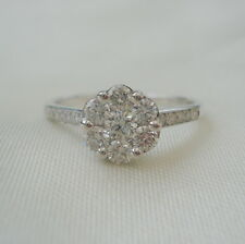 0.52ct Certified SI Clarity Diamond Gold Engagement Ring