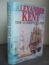 The Darkening Sea by Alexander Kent HB DJ 1993