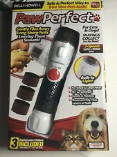 New listing Bell and Howell Paw Perfect Rotating File Pet Nail Trimmer - As Seen On Tv