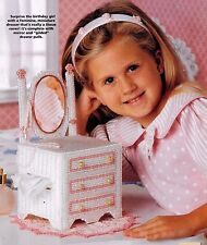 DRESS UP TISSUE TOPPER & LITTLE SWEETHEARTS BRUSH - PLASTIC CANVAS PATTERNS