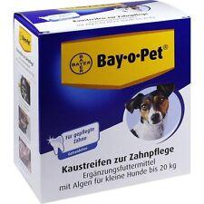 BAIE O PET Soin dentaire Lamelle à mâcher pour petits chiens 140 g PZN73743