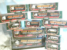 COLLECTION OF CORGI EDDIE STOBART LTD BOXED TRUCKS AND VANS