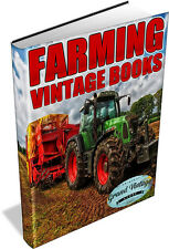FARMING 101 Vintage Books on DVD - farm,cattle,sheep,animals,dairy,farmer