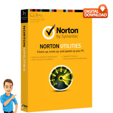 Norton Utilities V. 16 - Lifetime License - 2019 - 3 PCs- Portable & Delivery