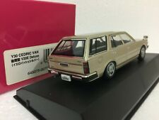 1/4 Dism Nissan V20E Cedric Van Deluxe 1999 Wagon Beige model car n/ kyosho