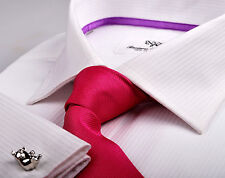 """Solid White Wrinkle Free Business Shirt - Get $10 OFF with Coupon Code """"CHOCCY"""""""