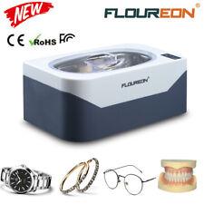 Floureon 400ml Ultrasonic Cleaner Ultra Sonic Bath Polish Cleaning Tank
