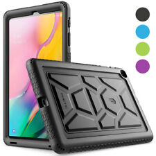 Galaxy Tab A 10.1 SM-T510/T515 Tablet Silicone Case,Poetic Shockproof Cover