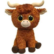 Ty Beanie Boo Angus Highland Cow Large Plush Soft Toy 36749