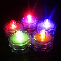 Lumineux batterie sans flamme LED thé bougies lumière Tealights décoration fête