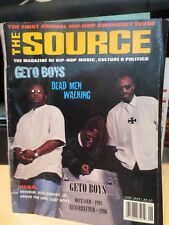 The Source Magazine - Geto Boys - June 1996 No. 81