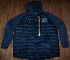 Nike CAROLINA PANTHERS Super Bowl 50 Aeroloft Jacket BLACK Men's XL ~ NWT $450