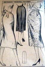 *LOVELY VTG 1950s SKIRT ADVANCE Sewing Pattern WAIST 32 FF