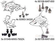 Honda NT650V Deauville shouldered front fairing bolts screws plastic rivets kit