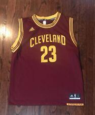 Boy s Youth NBA Cleveland Caverlers  23 Lebron James Jersey Size Large  Adidas e59f3b140