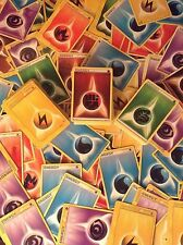 50x Pokemon Cards - ENERGY ALL SETS LOT PL/EX/MT/NM - Fire Electric Water Etc.