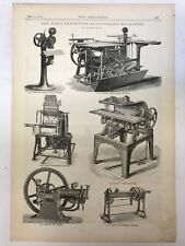 The Paris Exhibition - Book Binding Machinery: The Engineer 1889