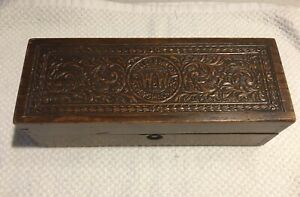 Vintage Wheeler & Wilson Sewing Machines Wood Box