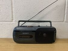 Sony cassette Player & radio CFM-155 fully working Condition & Portable