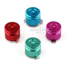 4pcs Aluminum Metal Bullet Buttons Mod Kit for PS3/PS4 Controller Multicolor