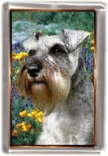 Miniature Schnauzer Fridge Magnet No 1 by Starprint
