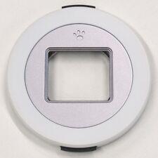 ACMAXX XCAP Auto Lens Cap WHITE Silver Panasonic Lumix G X Vario PZ 14-42mm lens