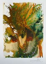 Salvador Dali Dalinean Horse BUCEPHALE Facsimile Signed Lithograph Art