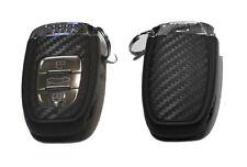 For Audi Q5 Q7 A4 A5 A7 A8 TT Carbon Fiber Key Chain Protective Cover Sticker
