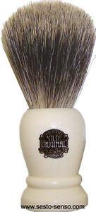 VULFIX Pure Badger Shaving Brush, no. 2198 Imitation Ivory Handle